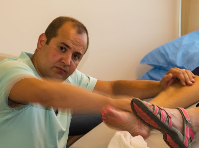 Doctor Marco Palermo physical therapist