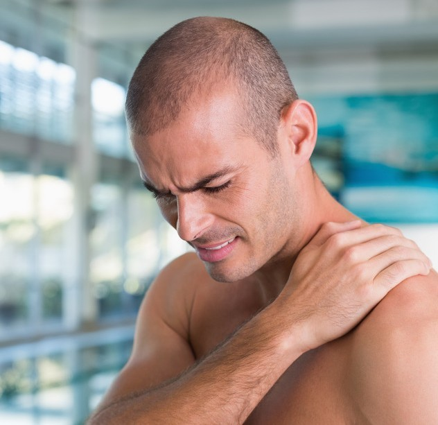 Shoulder pain and swimming